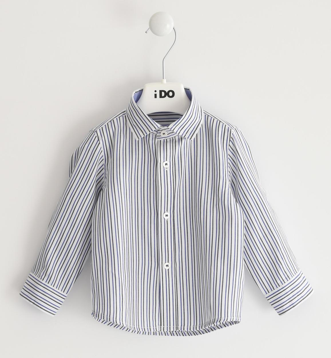 csíkos fiú ing