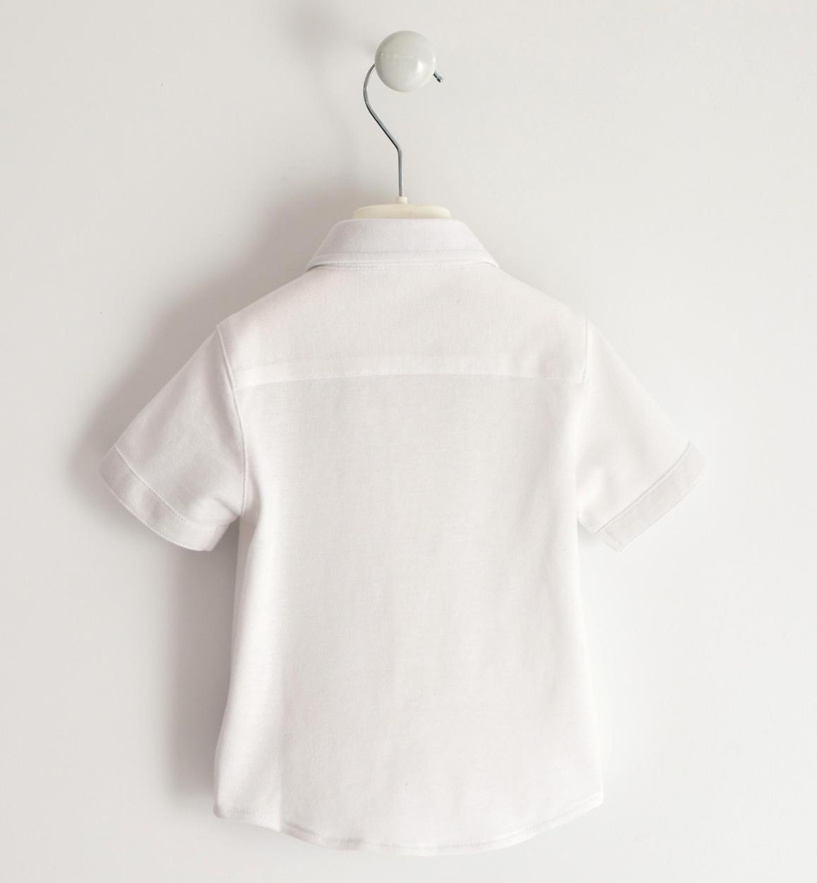 camicia bambino a manica corta in comodo bianco retro 02 1194j67000 0113 150x150