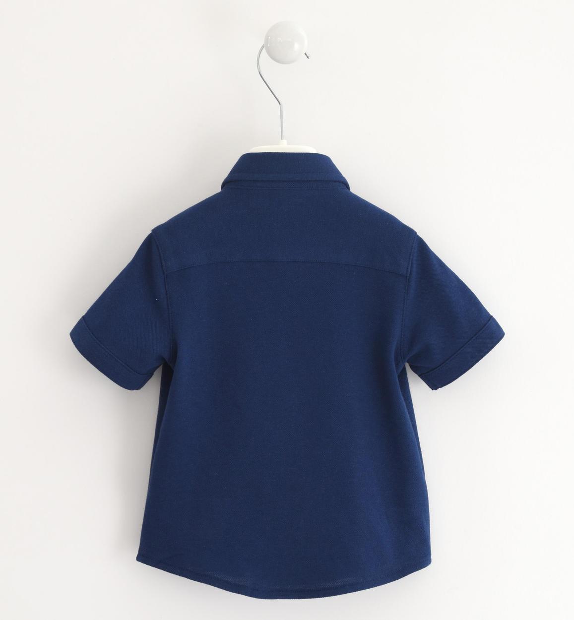 camicia bambino a manica corta in comodo navy retro 02 1194j67000 3547 150x150