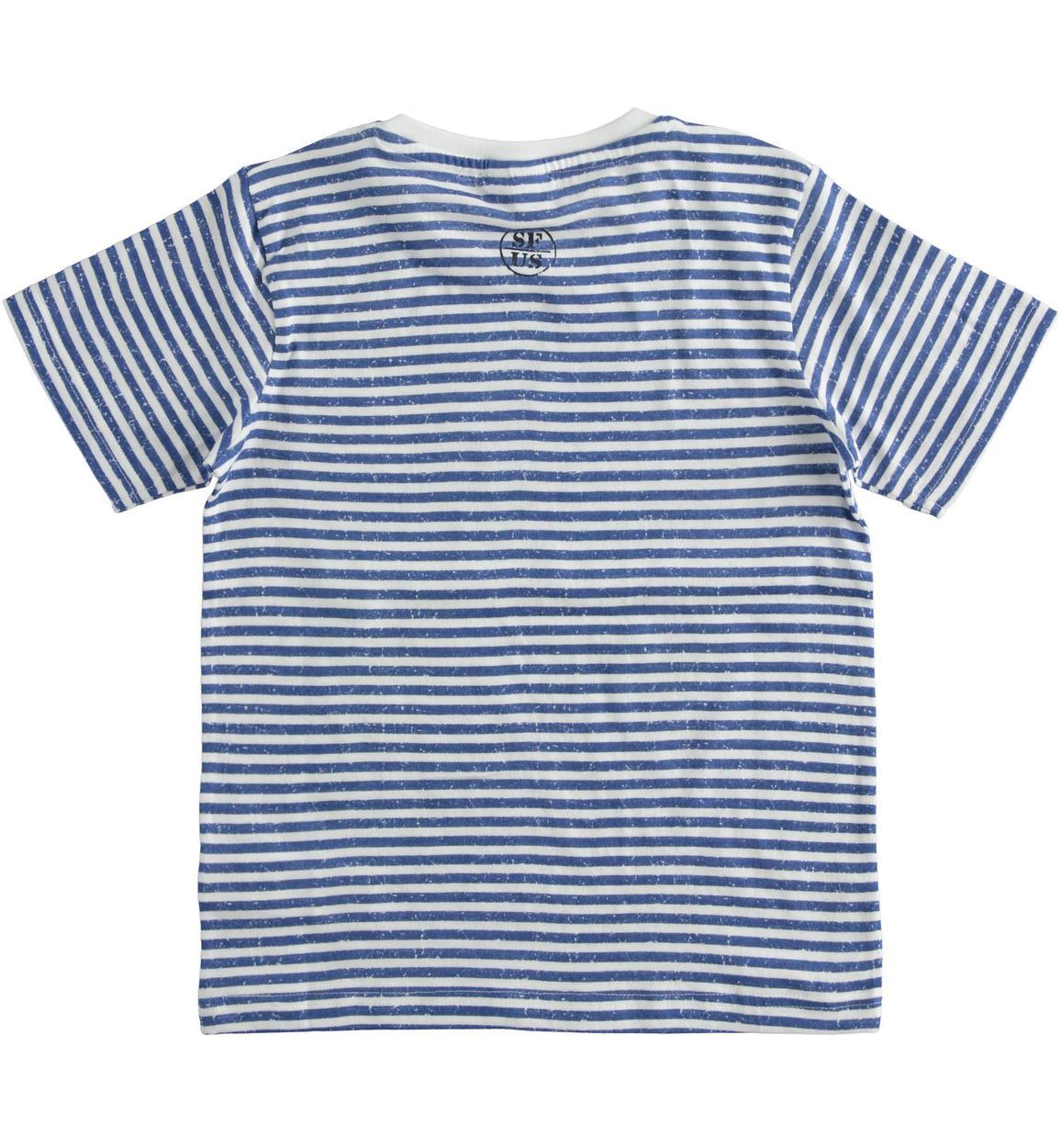 colorata tshirt fantasia rigata per bam bianco dettaglio 03 2434j81500 6my8 150x150