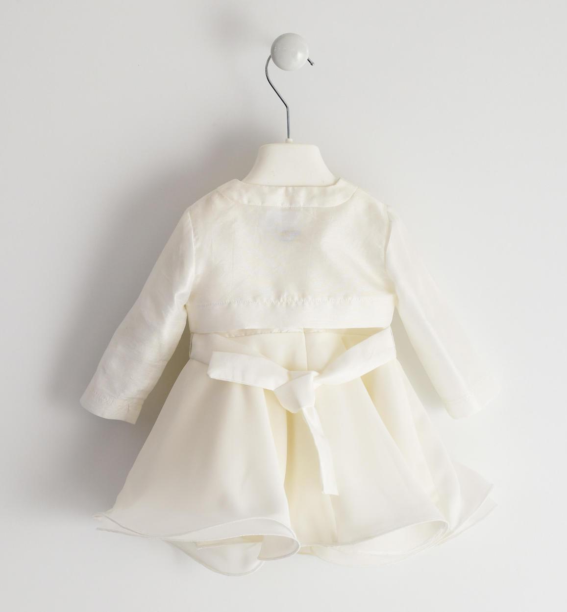 elegante abito con raffinato coprispalle panna retro 02 0444j13100 0112 150x150