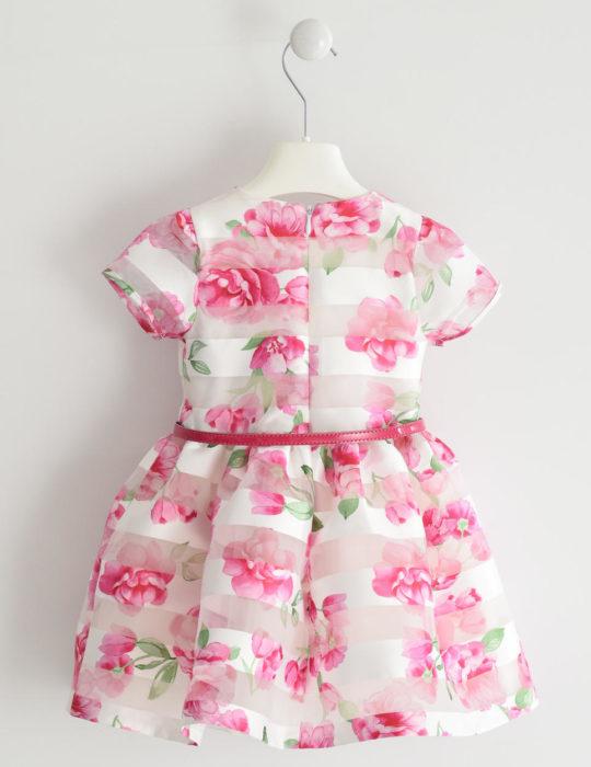 virágos rózsaszín alkalmi ruha