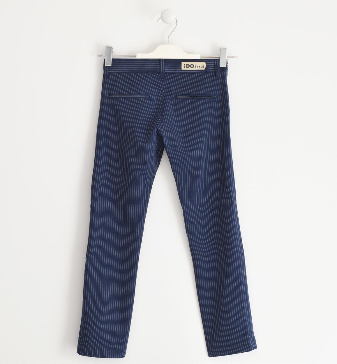 elegante pantalone ido slim fit per bamb navy dettaglio 03 2524j42000 3854 150x150