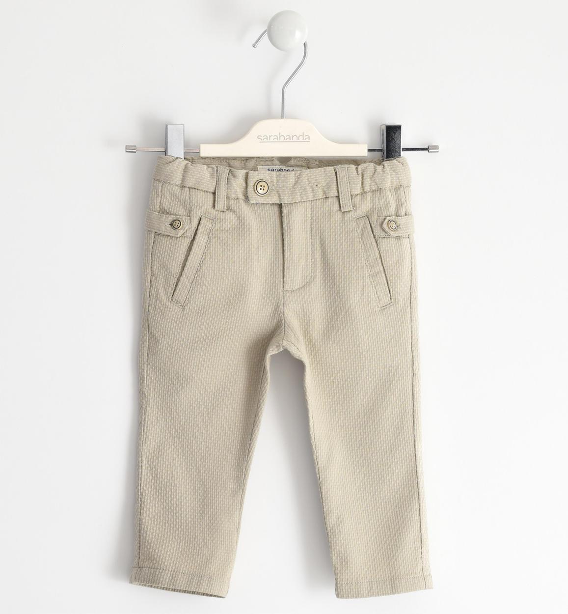 fiú drapp bézs alkalmi elegáns nadrág