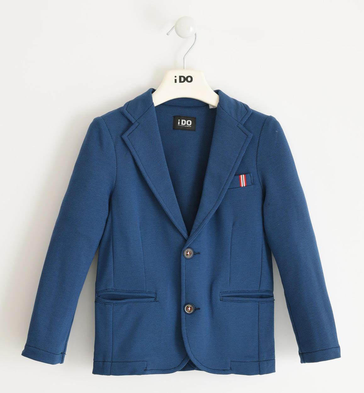 giacca in felpa micro pois per bambino d avion fronte 01 2744j46200 6mc6