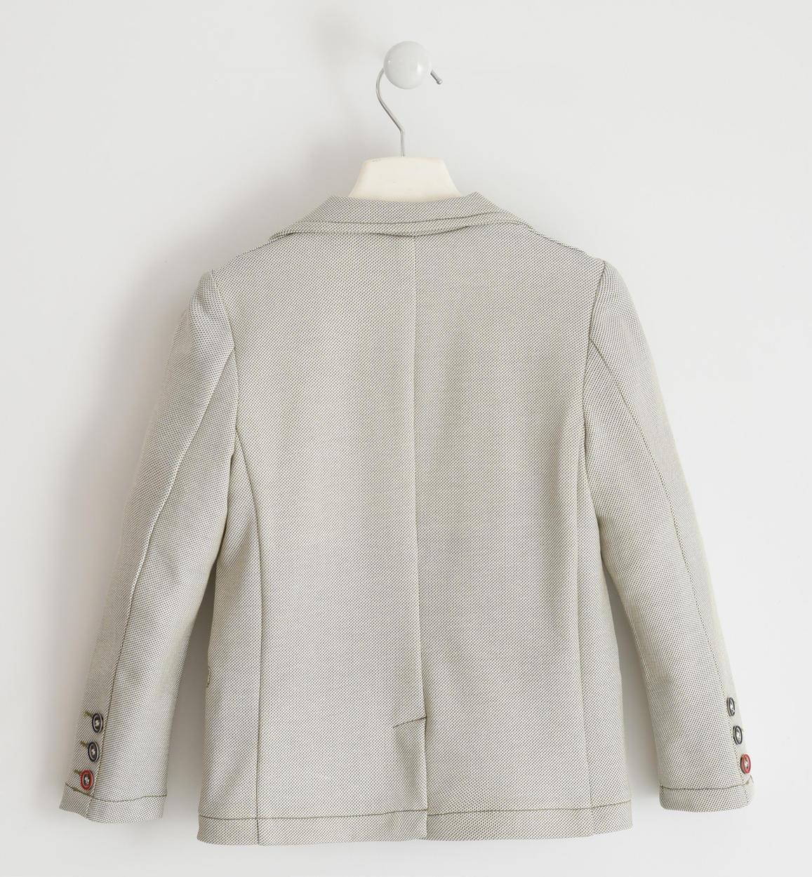giacca in felpa micro pois per bambino d panna retro 02 2744j46200 6mc7 150x150