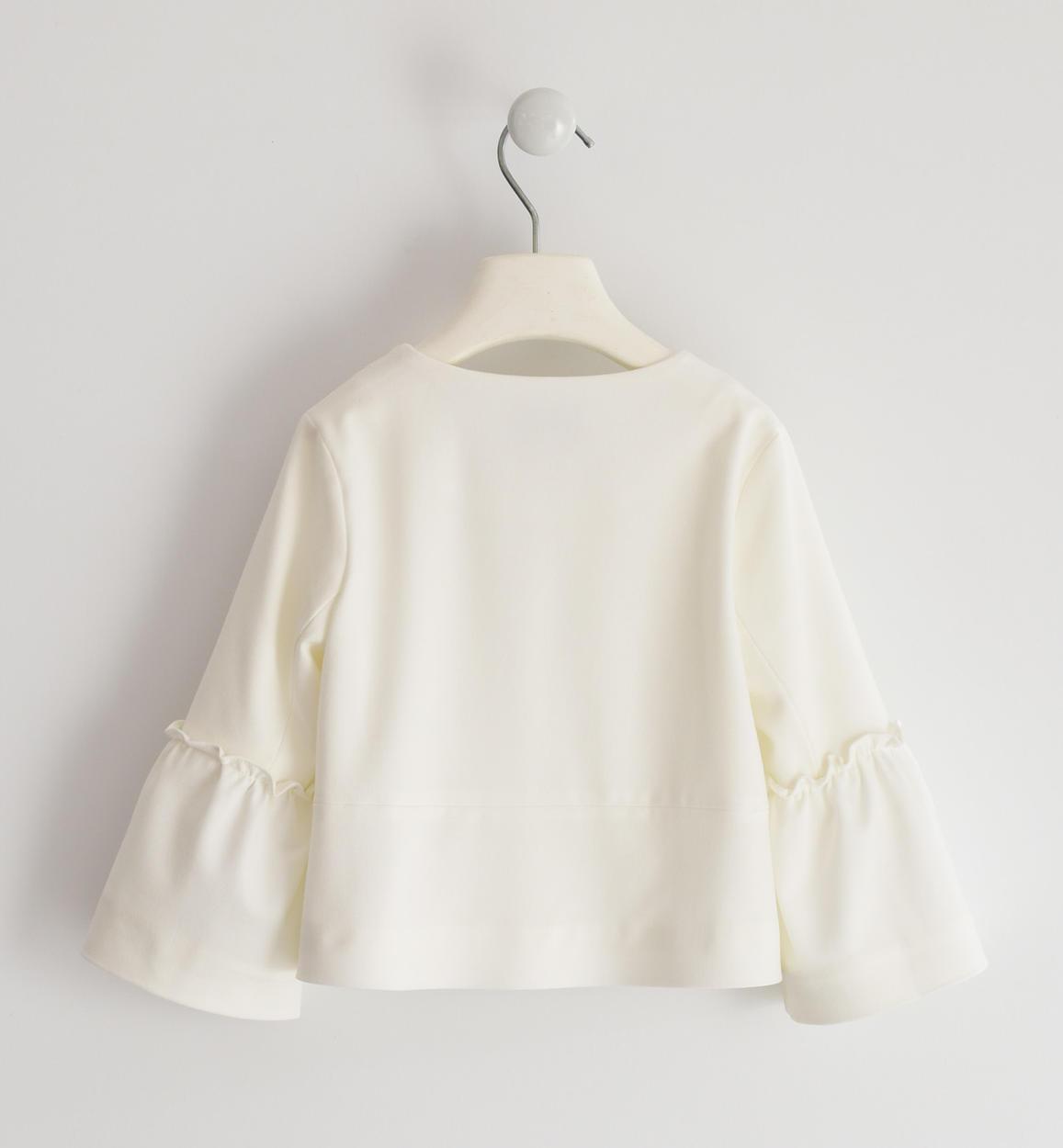 giacchina elegante in misto viscosa stre panna dettaglio 03 2784j55100 0112 150x150
