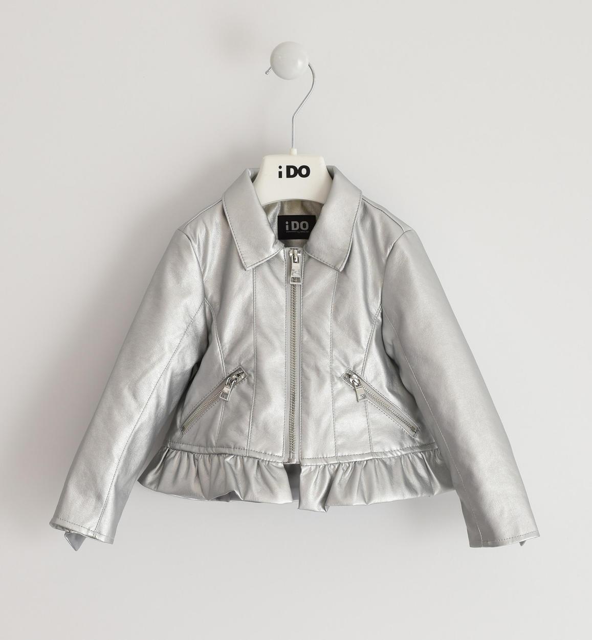 ezüst lány kabát