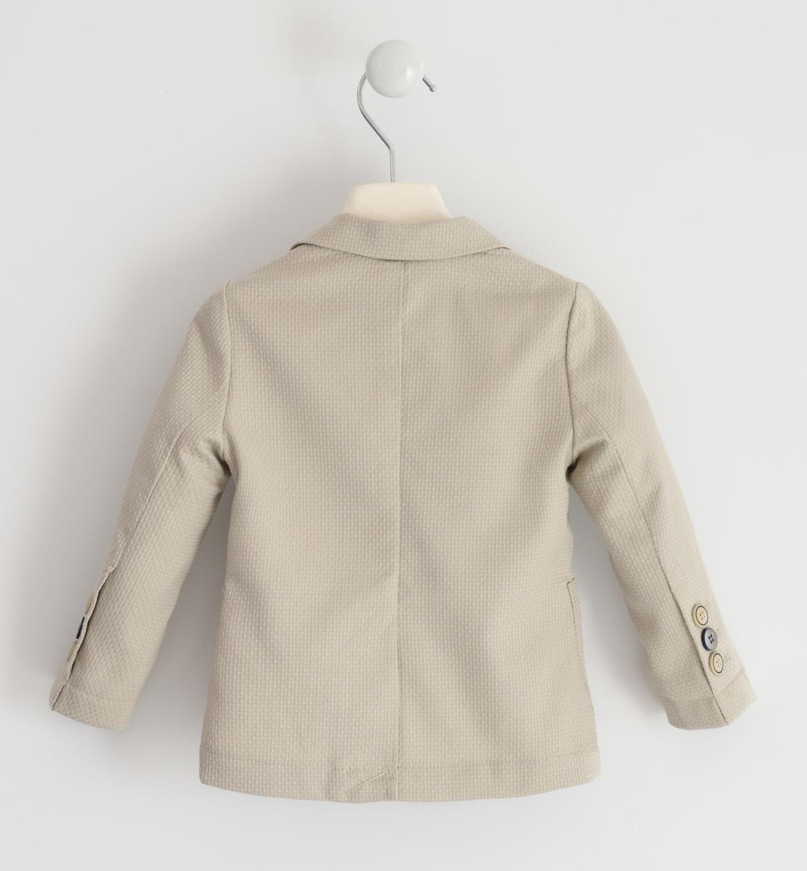 graziosa giacca micro fantasia per bambi beige retro 02 1240j16400 0435 150x150