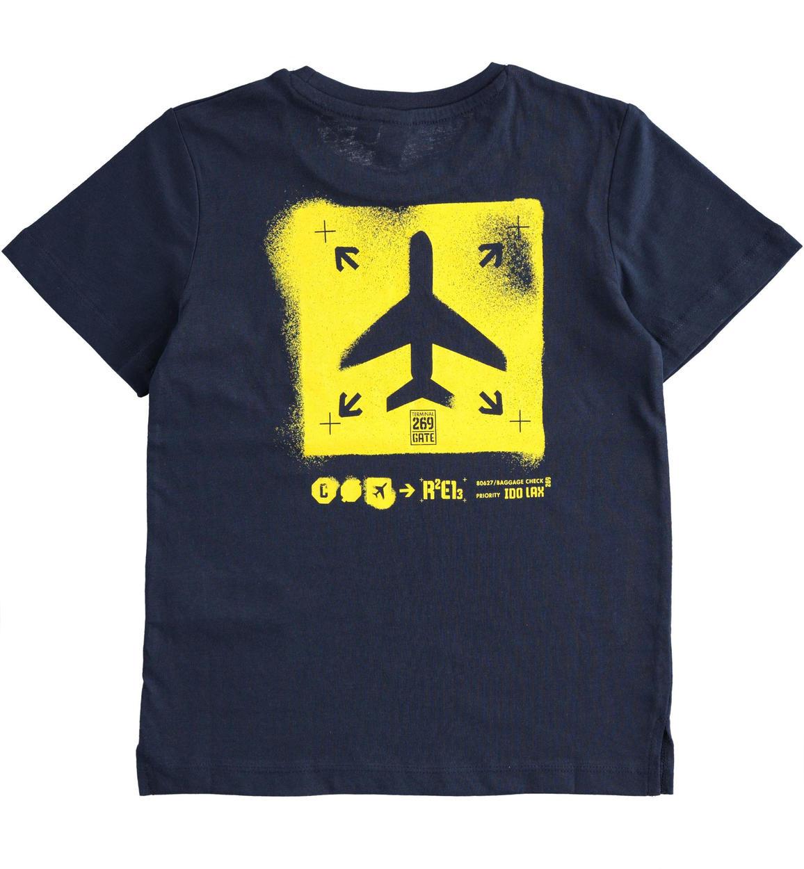 grintosa tshirt 100 cotone con aereo p navy retro 02 2434j38600 3885 150x150
