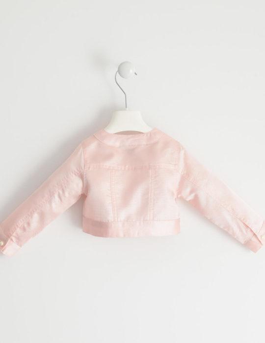 rózsaszín kislány kabát, boleró