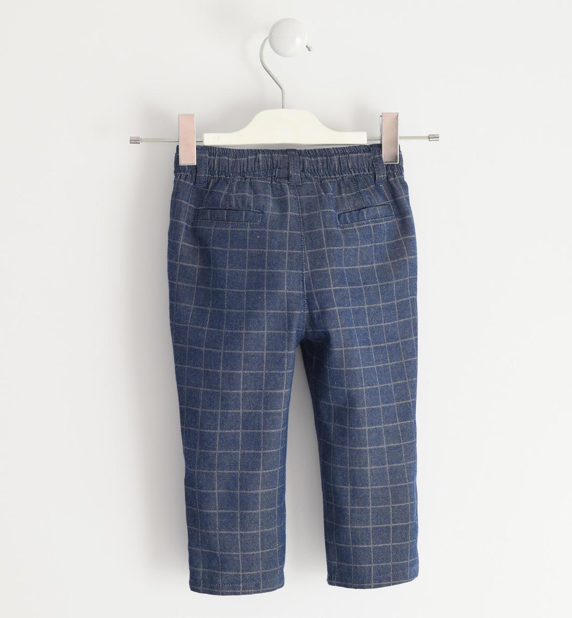 pantalone 100 cotone tinto filo a quadr stone washed dettaglio 03 1224j25100 7450 150x150