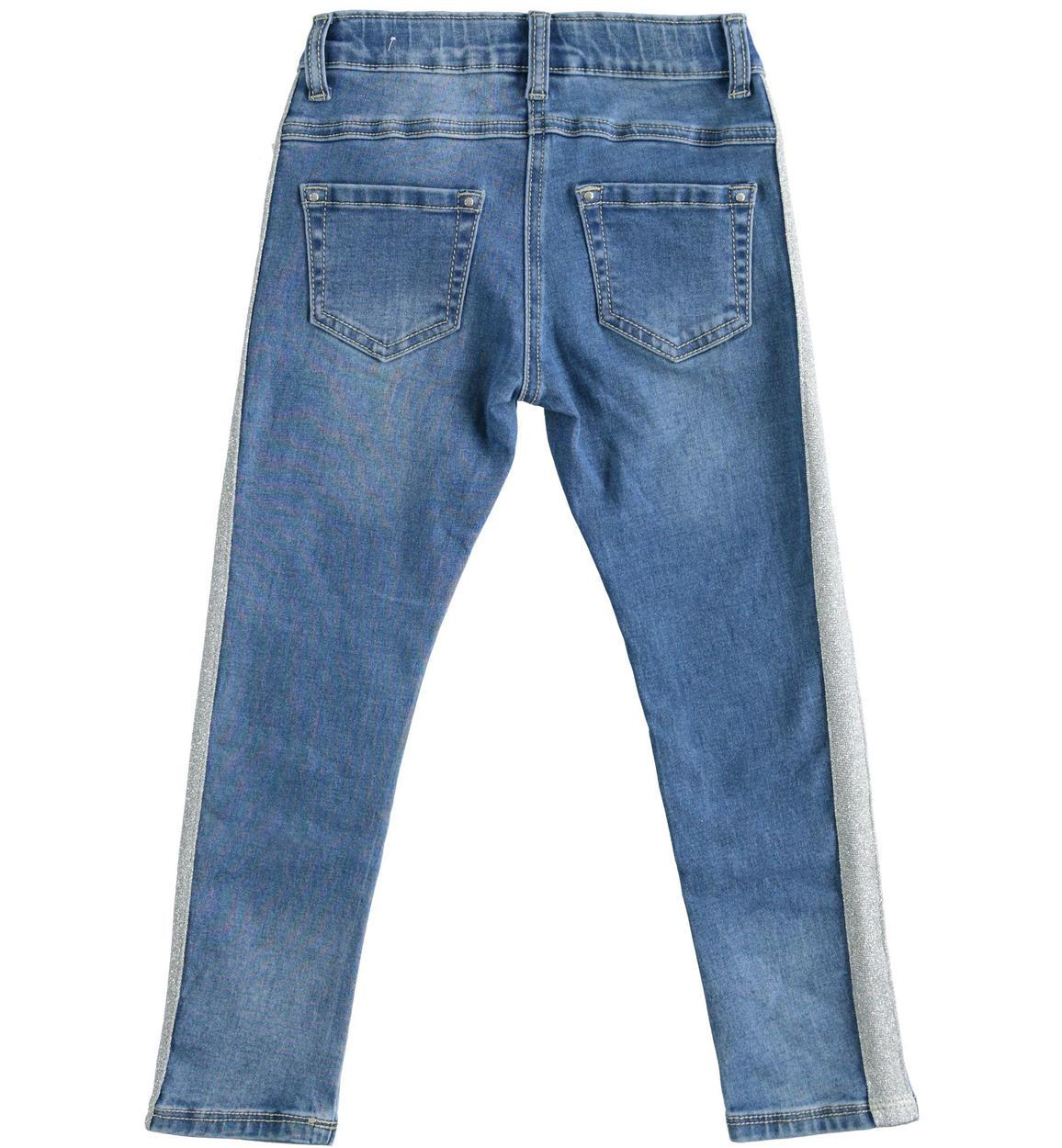 pantalone in denim di cotone stretch per stone washed chiaro dettaglio 03 2564j52900 7400 150x150