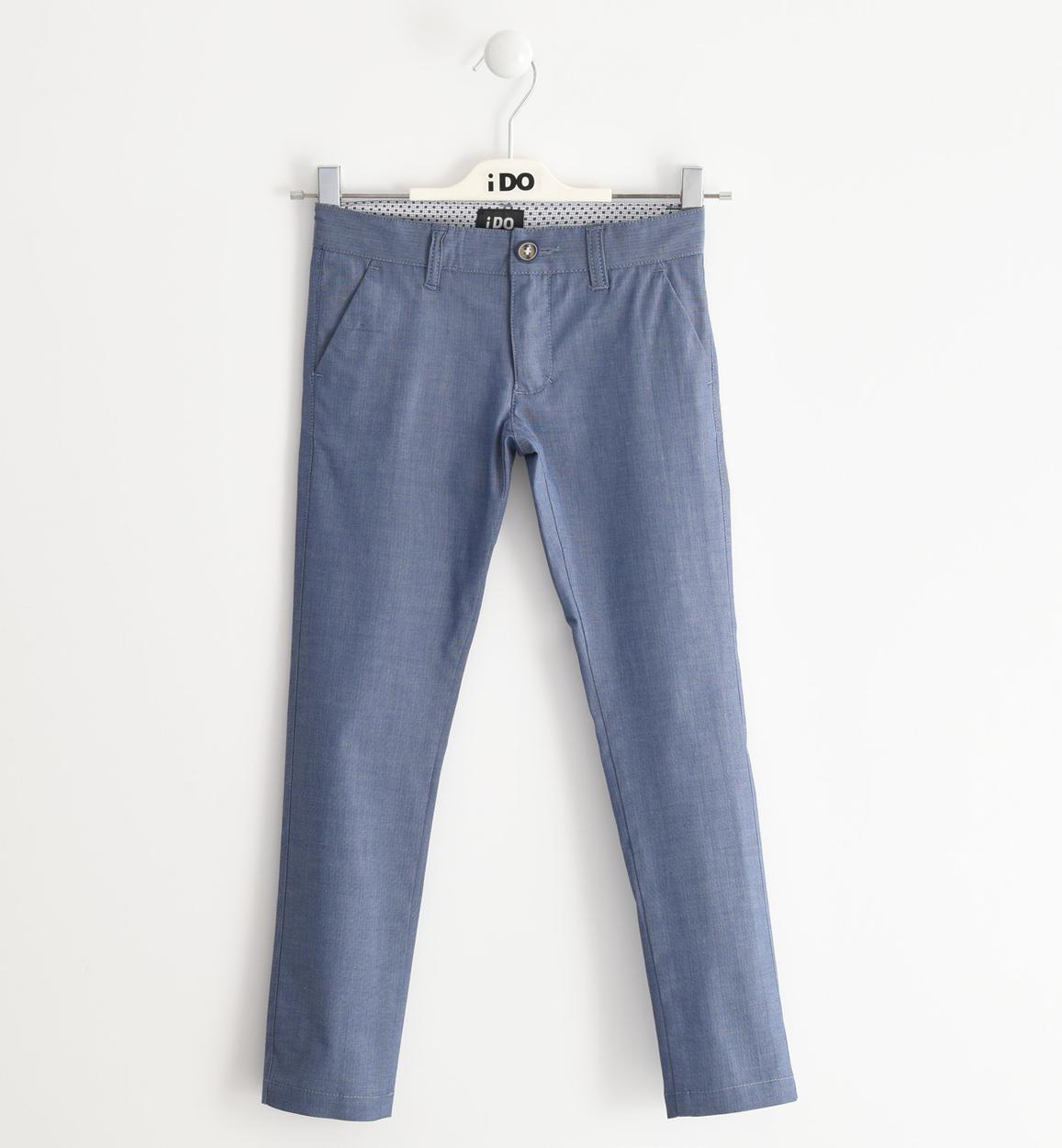pantalone in elegante tessuto di cotone avion retro 02 2524j42200 3654