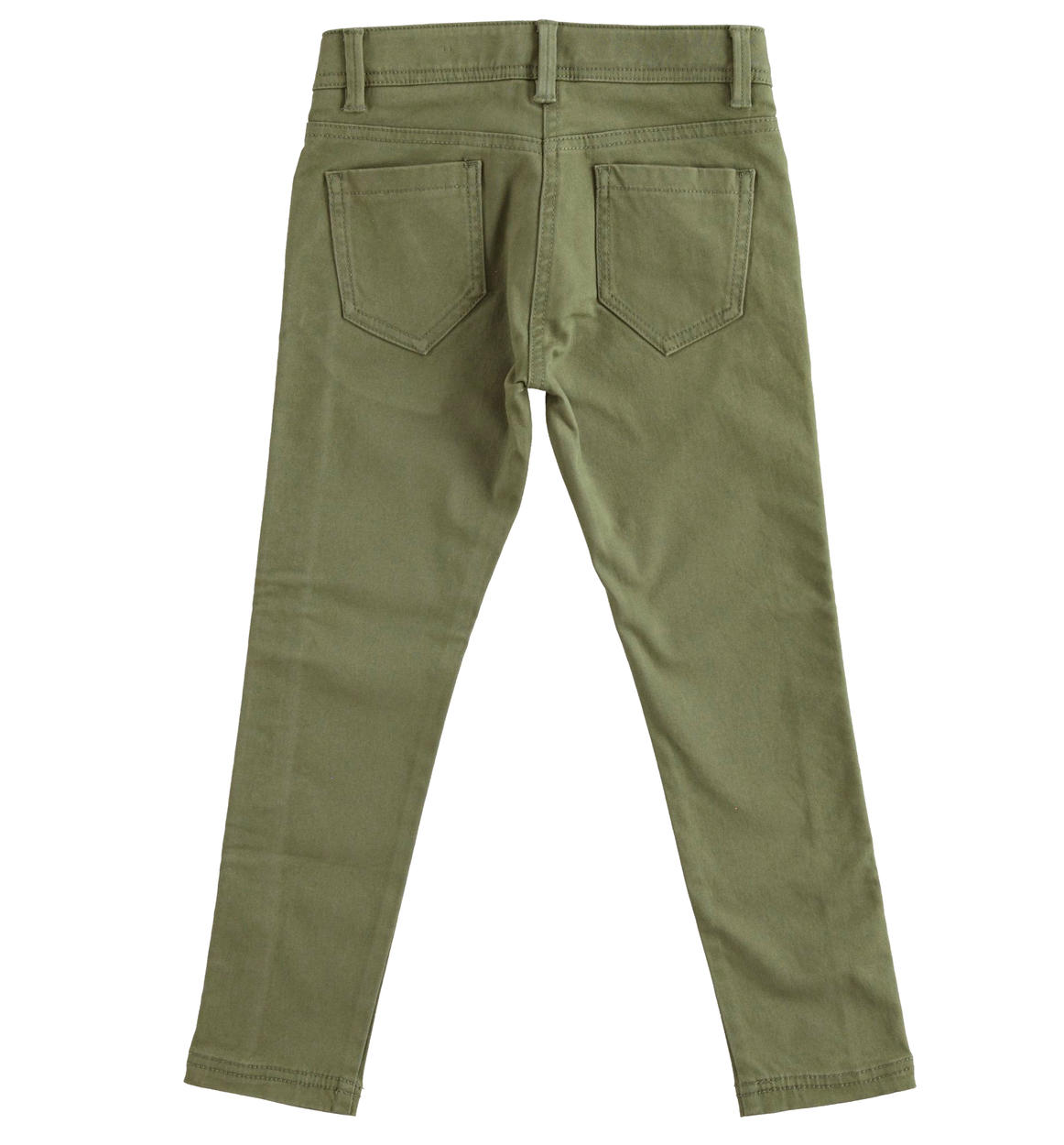 pantalone in twill di cotone stretch sme verde militare retro 02 2564k95900 5557 150x150