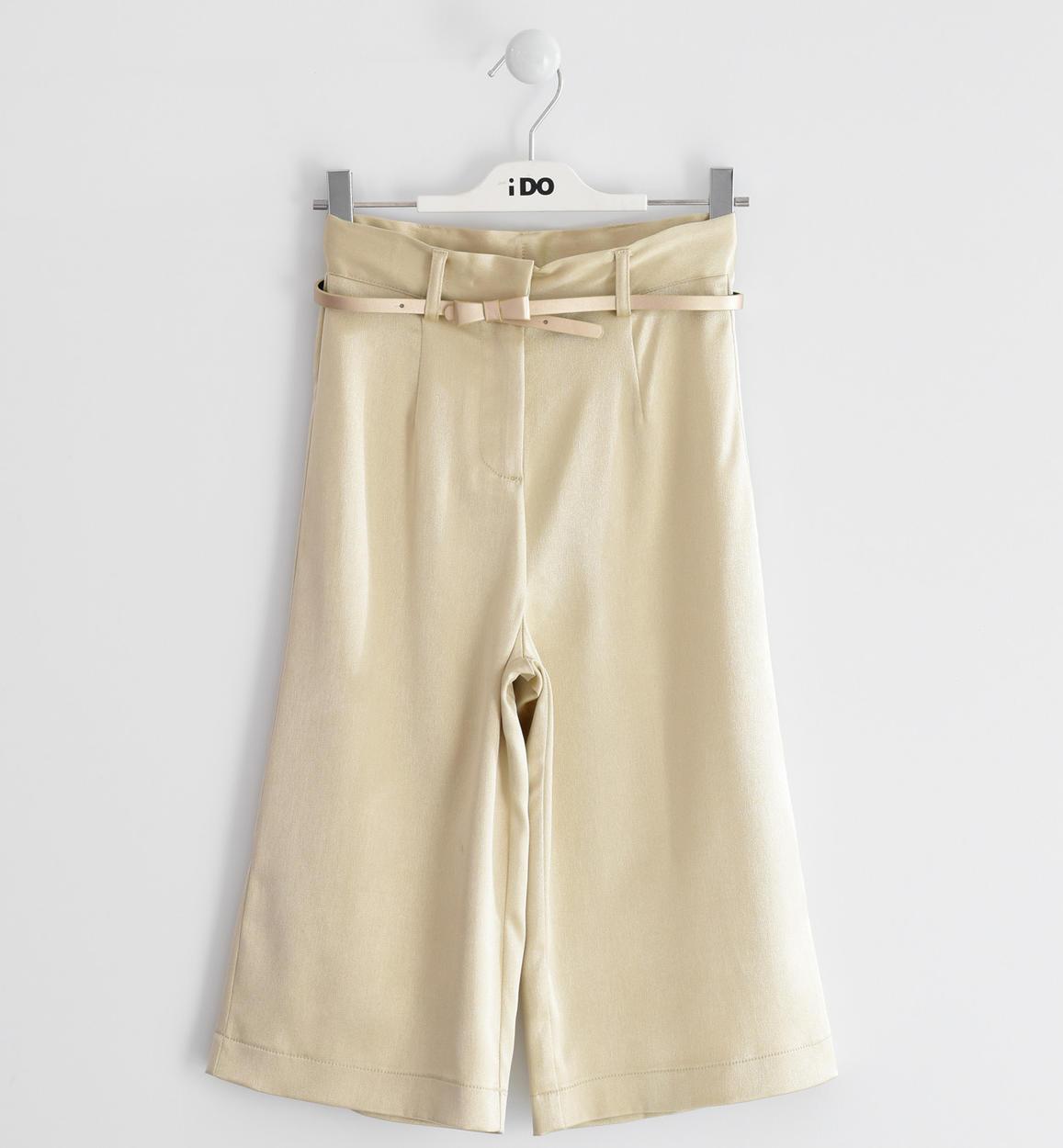 arany fényes elegáns nadrág