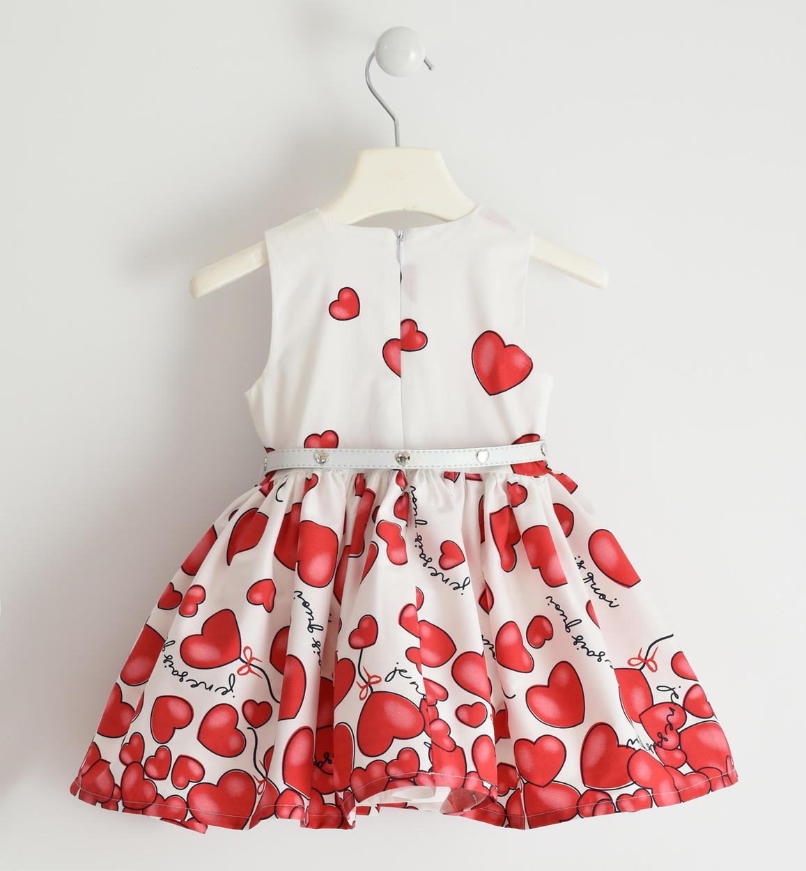 romantico abito in popeline stretch con rosso retro 02 1450j57400 2256 150x150