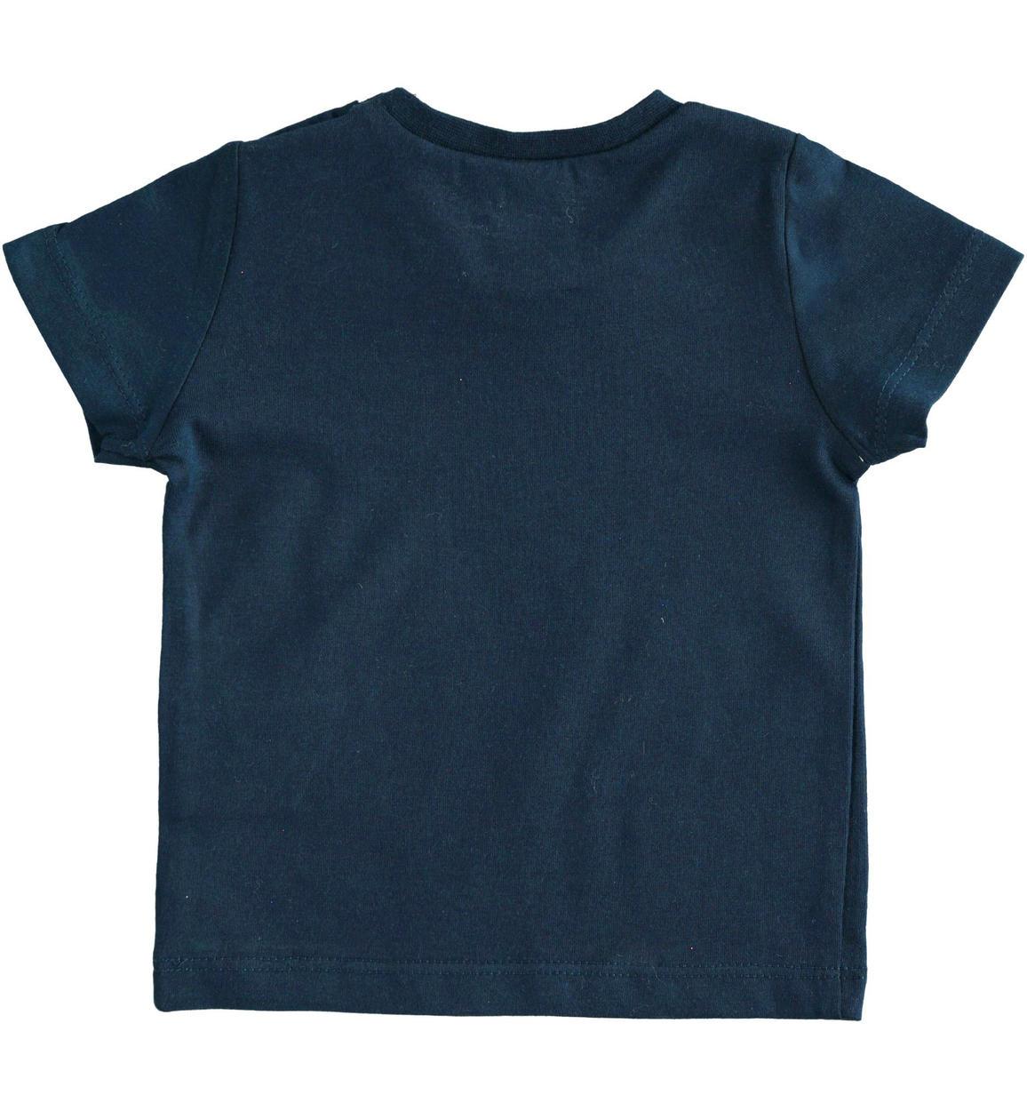 tshirt in jersey 100 cotone per neonat navy retro 02 0214j60000 3885 150x150