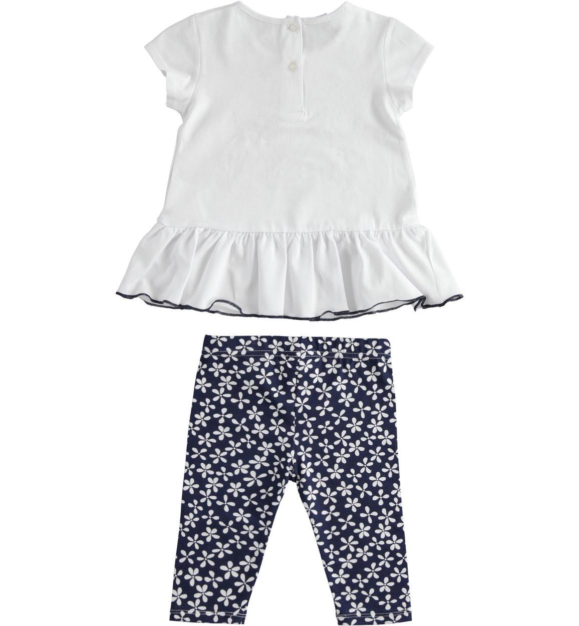 completo due pezzi con tshirt e legging bianco retro 02 1874j78100 8216 150x150