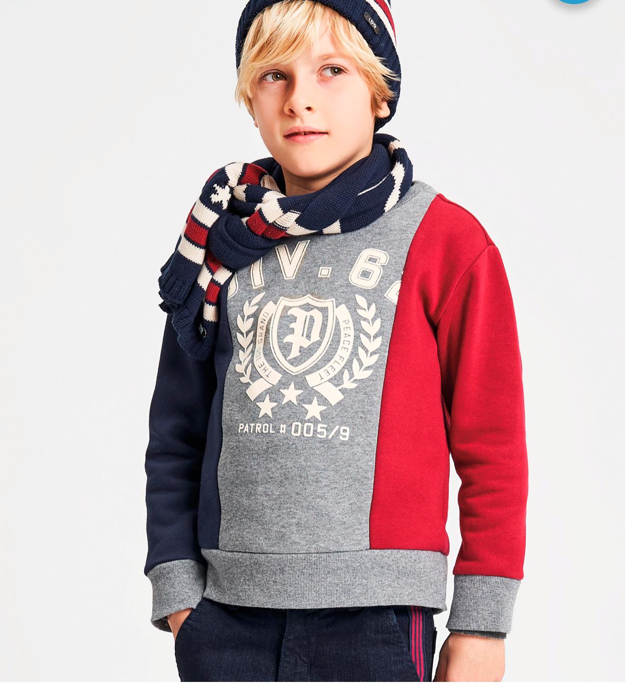 Belebújós fiú pulóver