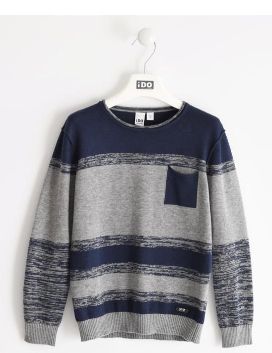 Fiú kötött pulóver