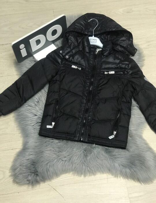 Fekete kisfiú kabát