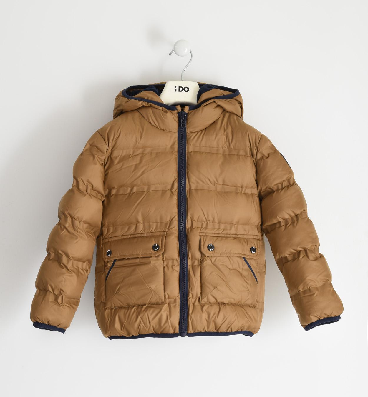 Barna téli fiú kabát