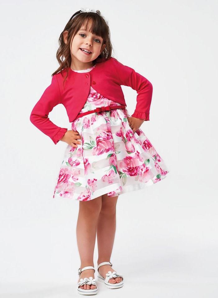 Kislány alkalmi koszorúslány ruha