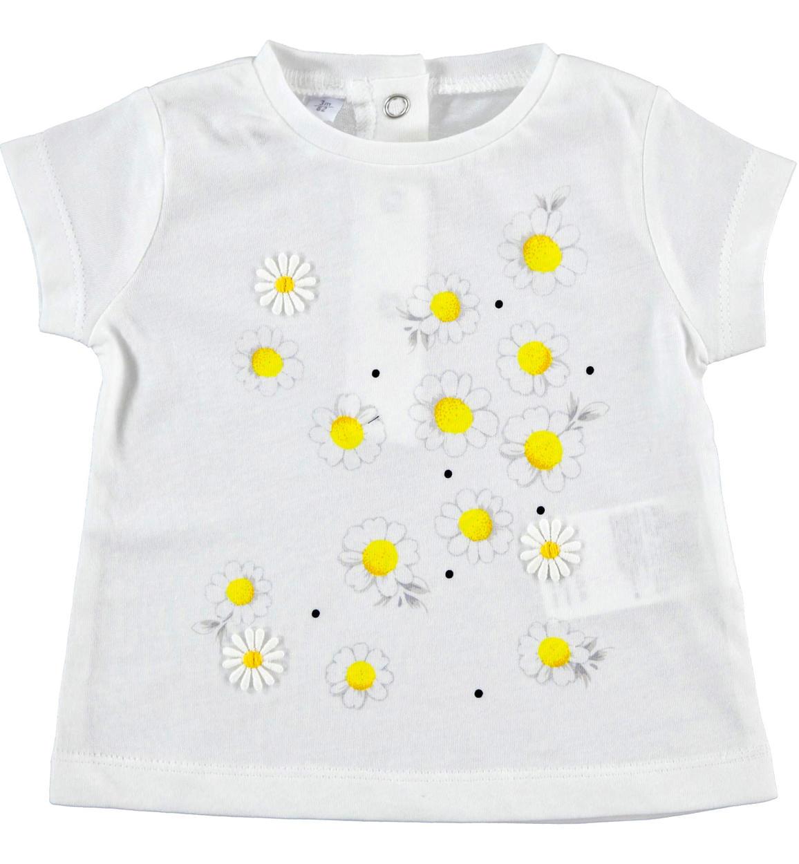 Virágos kislány póló