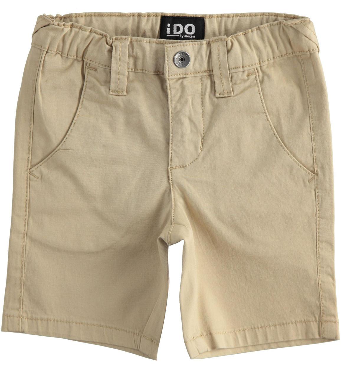 Bermuda bézs drapp rövid nadrág fiúknak