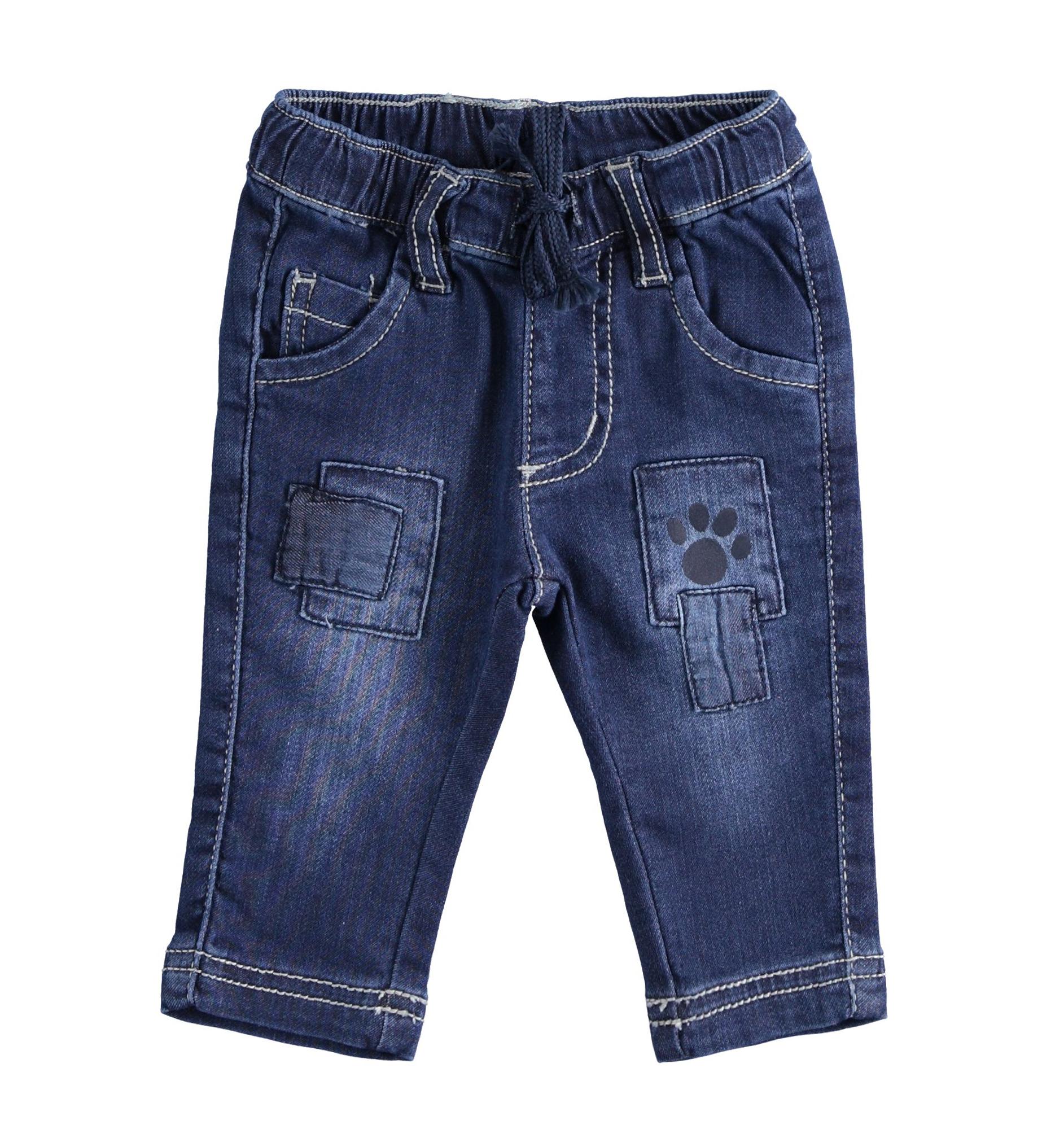 Farmer hatású újszülött kisfiú nadrág
