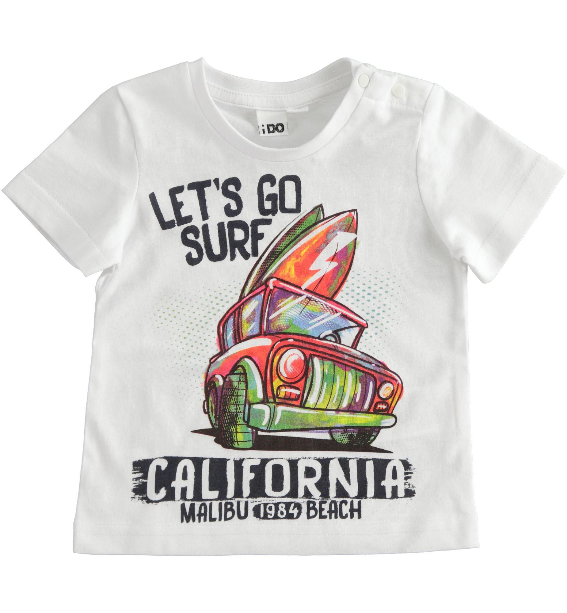 Kisfiú autós színes póló