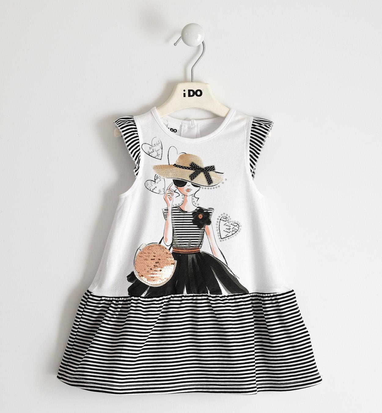 Kislányos nyári pamut ruha