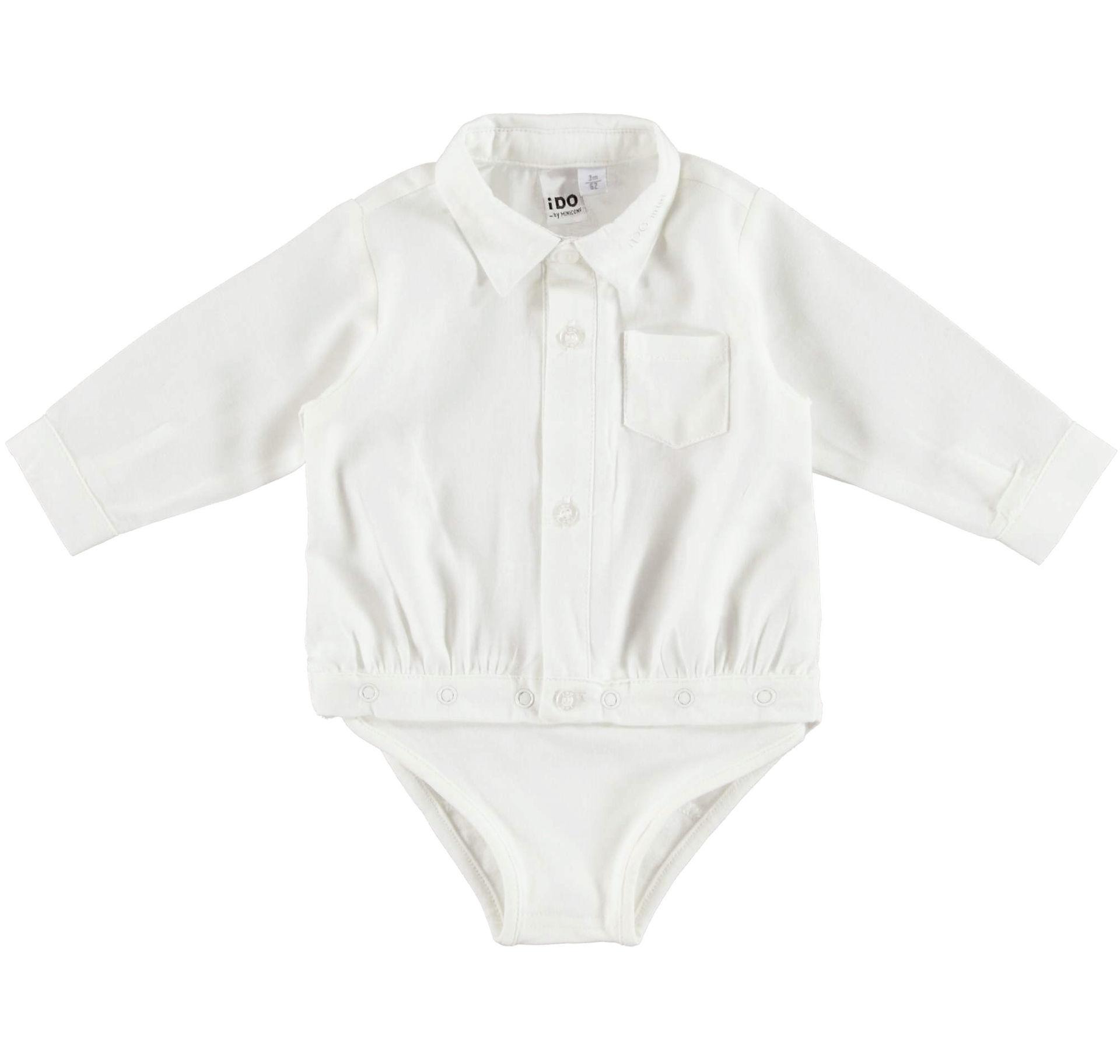 Sarabanda fehér bodys ing