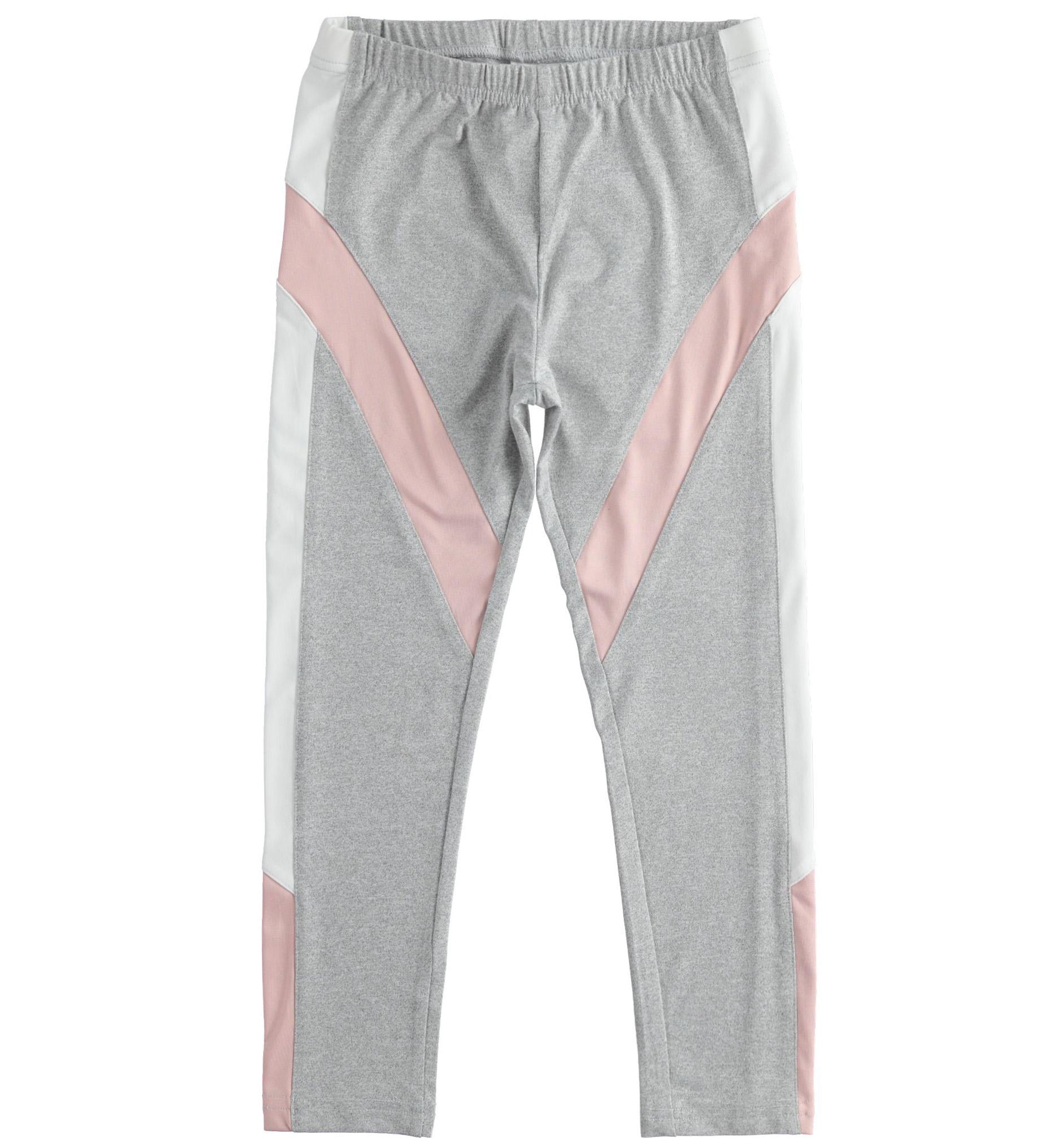 Szürke-púder kislány leggings