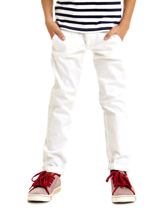 Fiú fehér nadrág