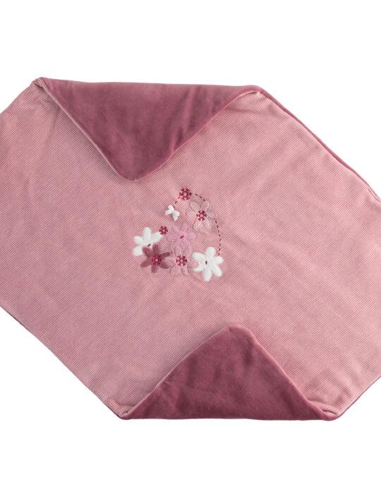 Újszülött puha mályva takaró