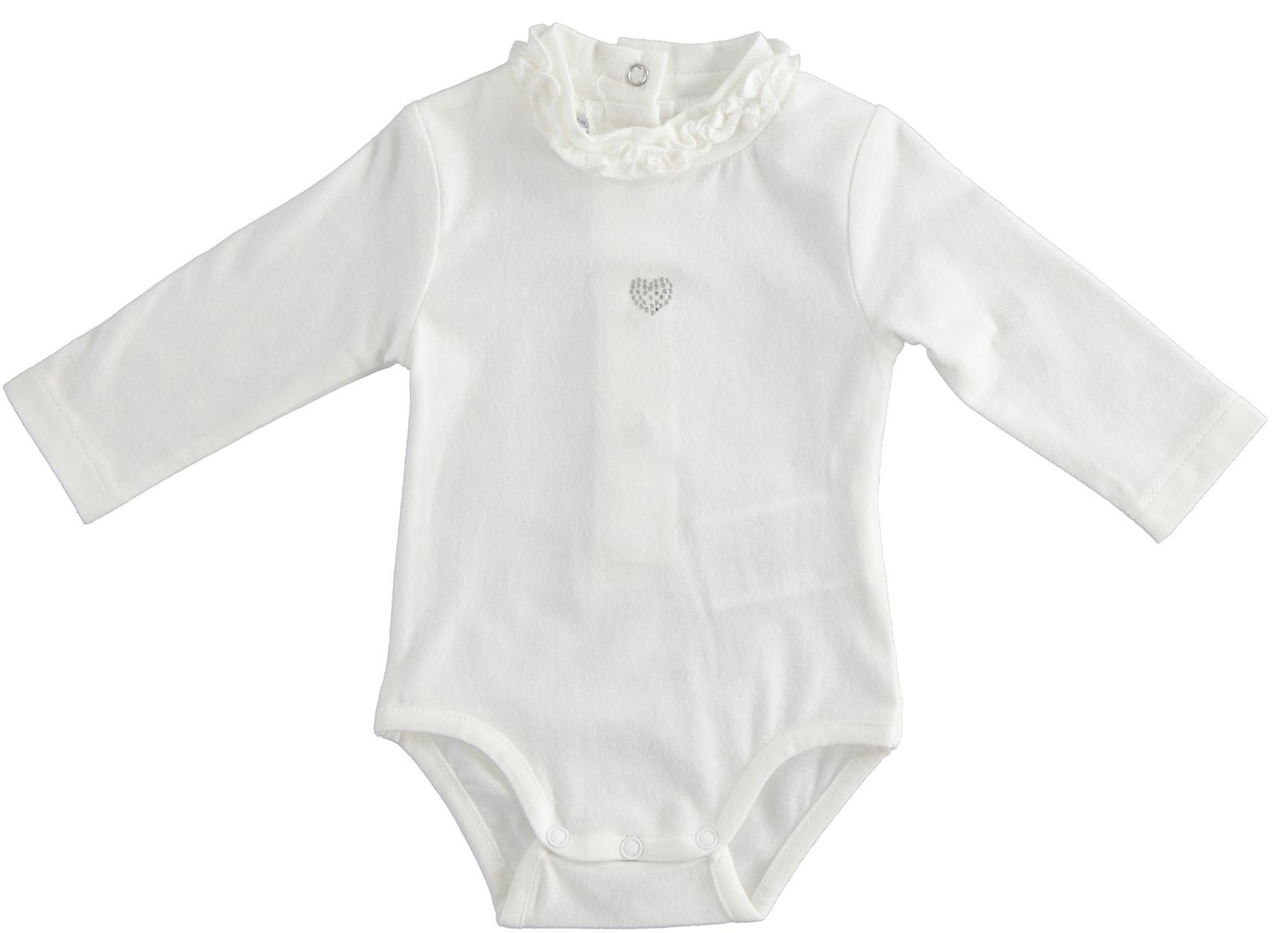 Fehér kislány body