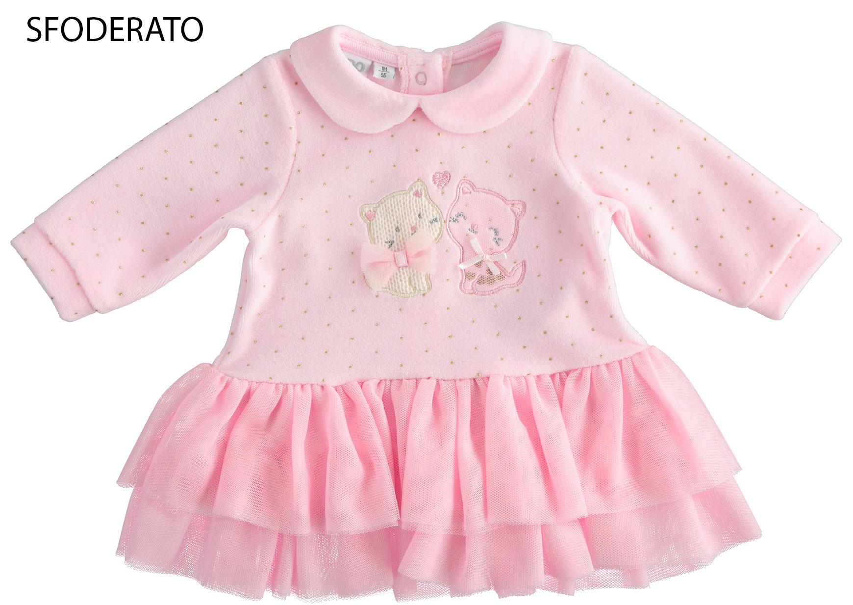 vastag újszülött kislány pamut ruha